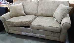 Costco Sleeper Sofas Costco Chenille Fabric Sofa With Sleeper 649 99 Frugal Hotspot
