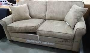 costco chenille fabric sofa with sleeper 649 99
