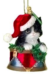 cat house christmas ornament cat ornament cat up your tree