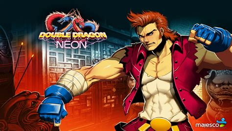 double dragon neon details launchbox games