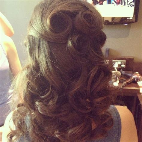 Vintage Wedding Hairstyle Images by Wedding Hairstyles Half Up Half Vintage Www