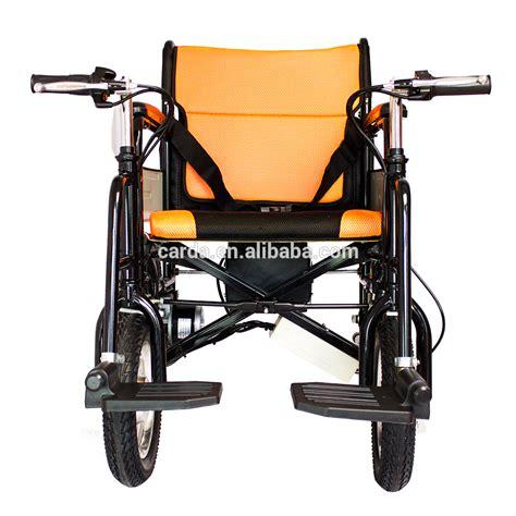 Kursi Roda Ringan ringan portabel kursi roda listrik untuk orang tua dan