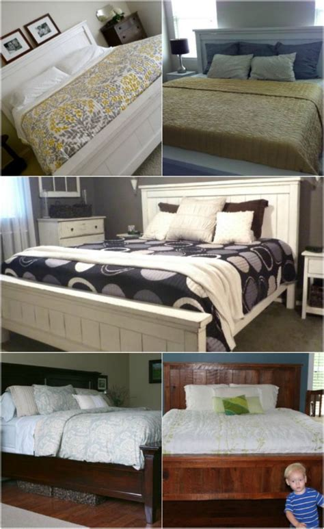 diy bed frame projects sleep  style  comfort