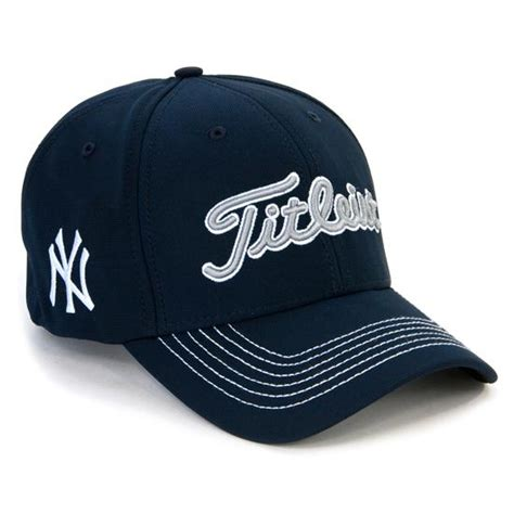 titleist s mlb fitted hats golfballs