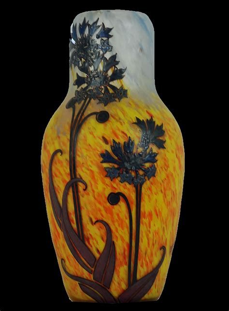 Art Vases Va187 Legras Vase Antique Elements