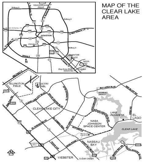 houston map clear lake texaqs gomaccs 2006 ellington field site logistics