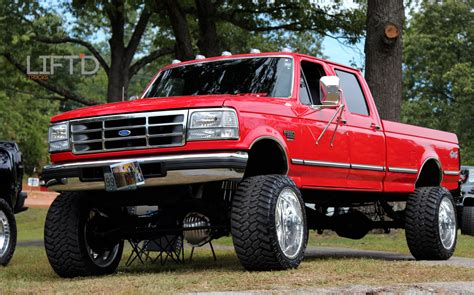 truck with the table rock lifted truck nationals