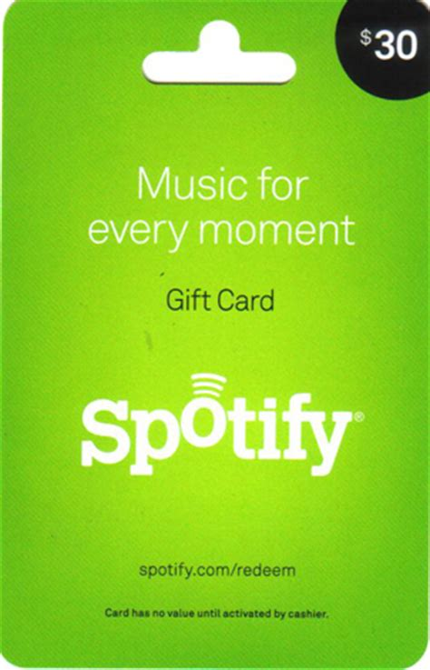 Buy Spotify Gift Card - buy 30 gift card for spotify usa gift card only with us and download