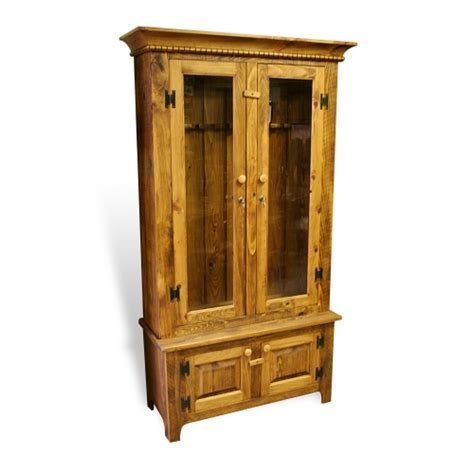 Dresser With Gun Cabinet by Living Bedroom