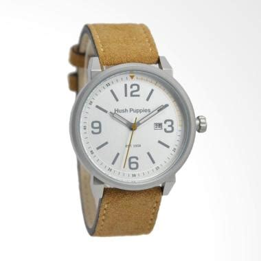 Jam Tangan Pria Wanita Hp jual hush puppies analog jam tangan pria brown hp 3841m 2501 harga kualitas