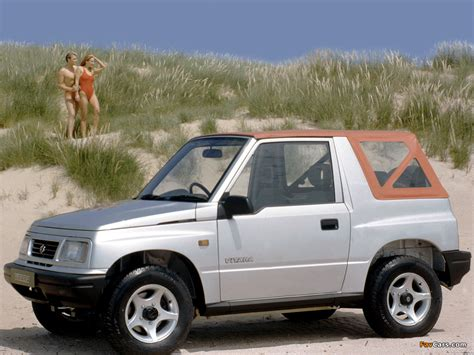 Suzuki Vitara 1989 Suzuki Vitara Canvas Top Uk Spec 1989 98 Images 1024x768
