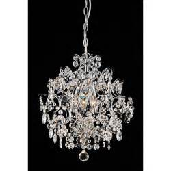 chandeliers overstock indoor 3 light chrome chandelier