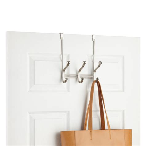 The Door Coat Hooks by York The Door Coat Hat Rack The Container Store