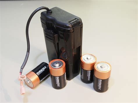 Battery Holder Accessories W V912 single use batteries and battery holders the w