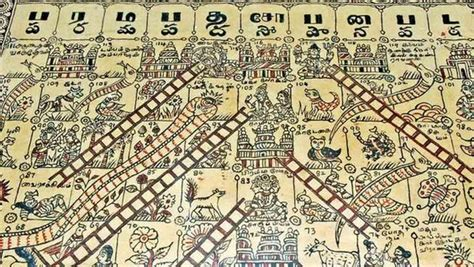 Snake And Ladders Rong Fa the 19th century kalamkari work on display at the government museum in egmore photo d sath