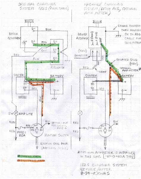 3 wire regulator wiring diagram golf cart get free image