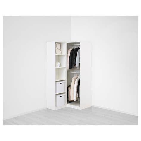 Pax Corner Wardrobe by Pax Corner Wardrobe White Fardal Vikedal 111 88x201 Cm