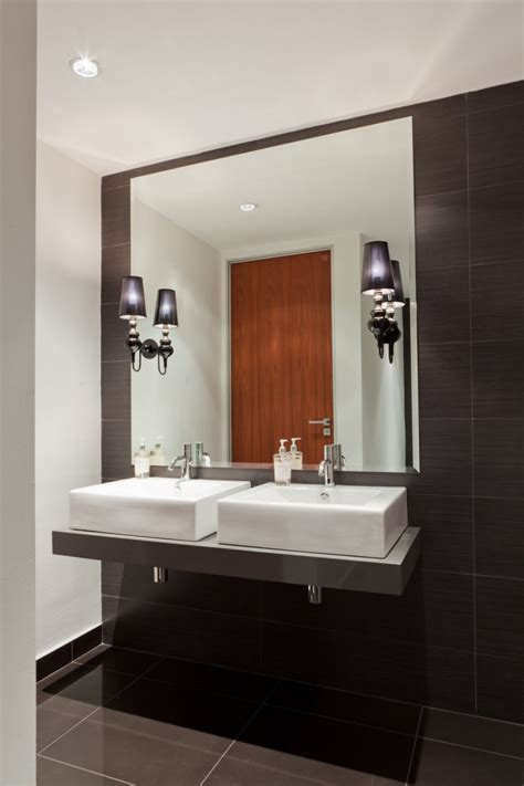 modern office bathroom deneys reitz office interior design by collaboration