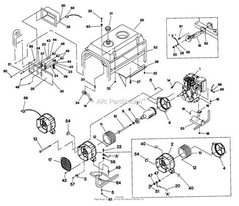 briggs  stratton power products   svp  parts diagram  generator