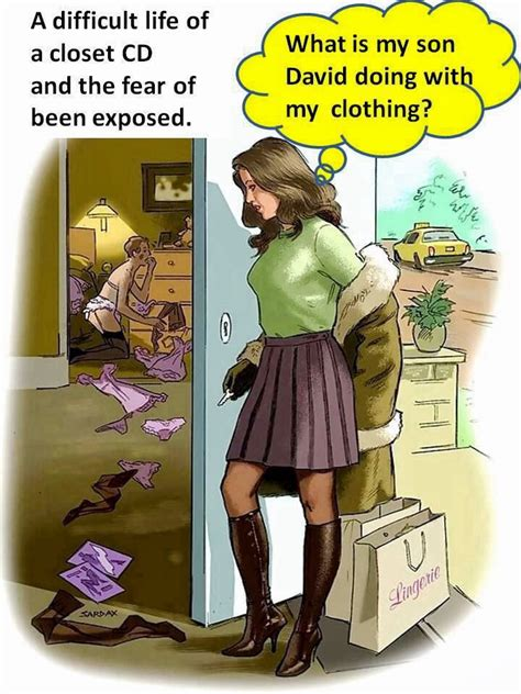 son forced feminization cartoons 162 best images about crossdressing cartoons on pinterest