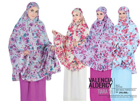 Mukena Tatuis Allura 048 Purple Pink Outlet nur aini collection
