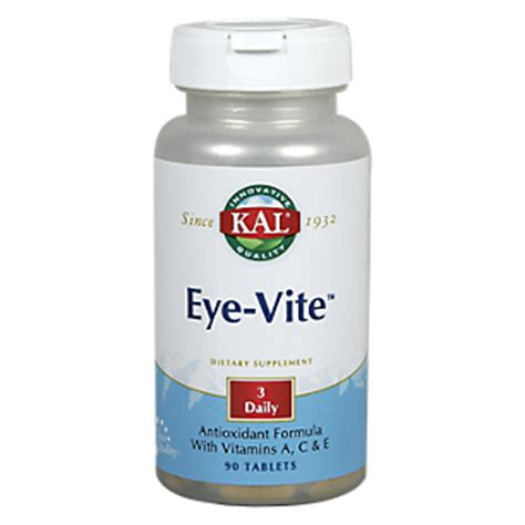 Dyno Vites Wellness 30 Tablet eye vite 90 tablets by kal at the vitamin shoppe