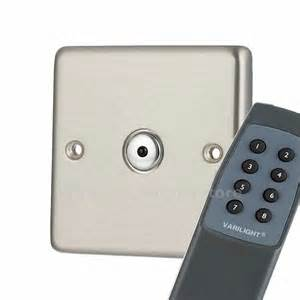 light switch remote g h brushed chrome remote dimmer switches remote light