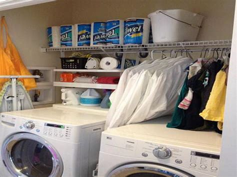Laundry Room Organizing Ideas by Amazing Small Laundry Room Organization Ideas 8