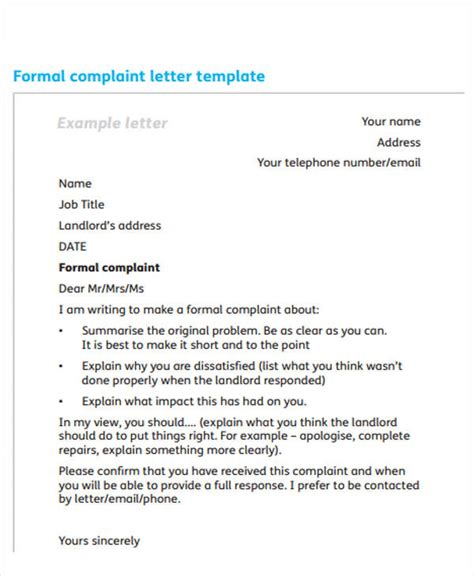 exle of formal letter uk 55 formal letter exles free premium templates