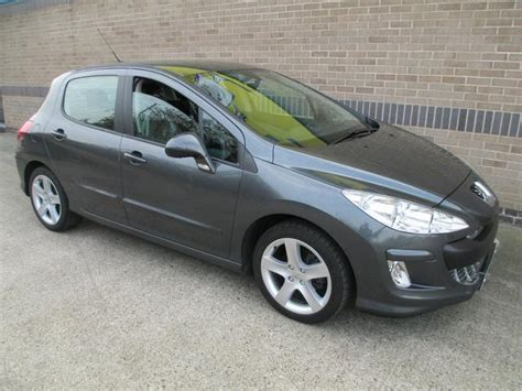 used peugeot diesel cars for sale used 2007 peugeot 308 hatchback 1 6 hdi 110 sport diesel