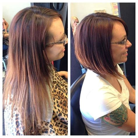 before and after pictures bob haircut 279 best images about haircuts and color before and after