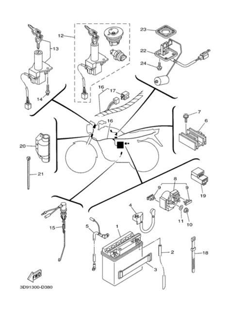 Diagrama Electrico Yamaha Ybr 125 | Diagrama de fiação
