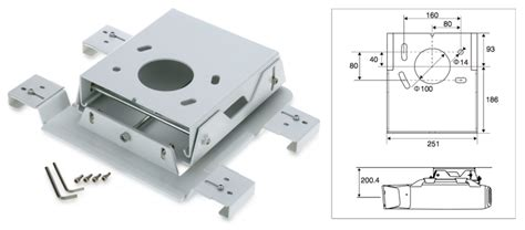 Ceiling Mount Epson Projector by Epson Elpmb25 Ceiling Mount For Z Series Projectors Av
