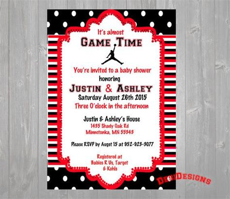 Michael Baby Shower by Michael Baby Shower Invitation Or Blue By