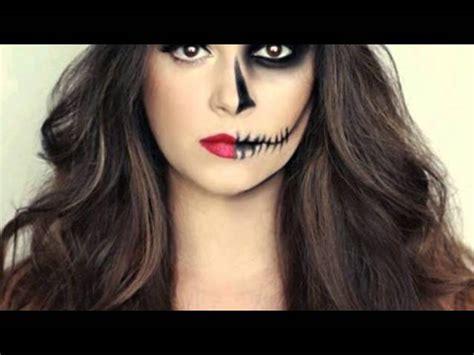 imagenes de uñas pintadas ala mitad maquillaje de media catrina reto maquillaje con rodillo o