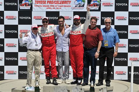 Toyota Announces The Field For The 2008 Proceleb Race by Americajr 2014 Toyota Grand Prix Of 2014