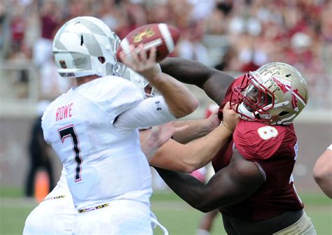 ravens pick florida state defensive tackle timmy jernigan