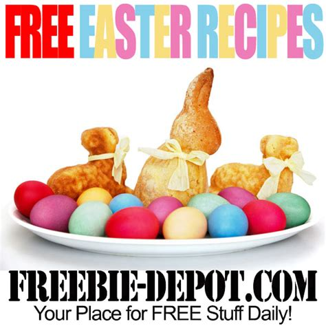 printable easter recipes free easter recipes free easter dinner recipe ideas