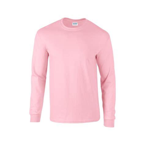 Sweater Unisex Polos Pink gi2400 ultra cotton sleeve light pink gildan
