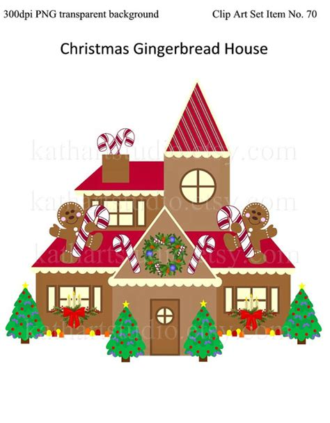 christmas gingerbread house to buy instant download christmas gingerbread house clipart for scrapbooking card making