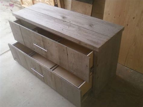 made reclaimed wood file cabinet by santini custom