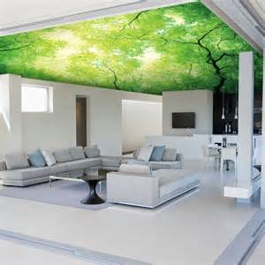 Wholesale Trees murals 3d ceiling murals for living room wallpaper 3d