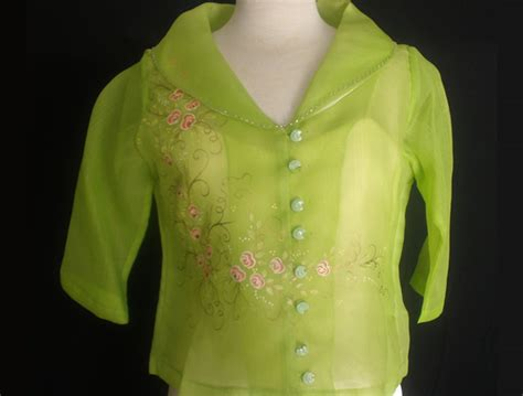 Ladies Cocoon Blouse   Barong & Formal