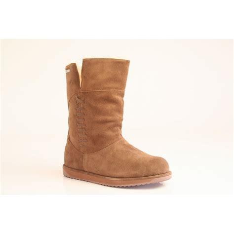 emu australia emu bay fold boot in waterproof