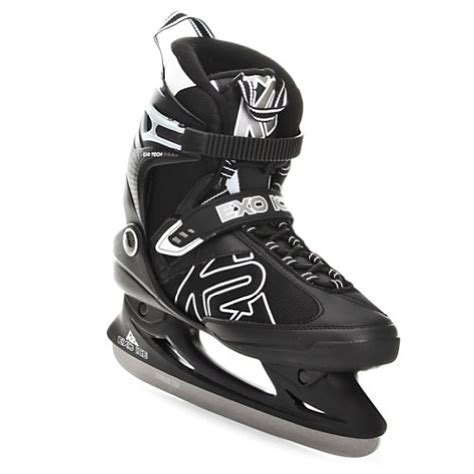 most comfortable hockey skates k2 sports men s 2011 exo ice skates black silver 11