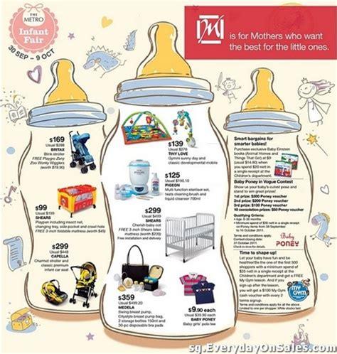 infant sale singapore metro infant fair sg everydayonsales
