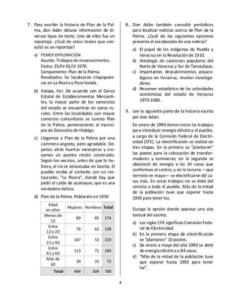 ejemplo de examen de olimpiada de conocimiento para primer respuestas del examen de las olimpiadas del conocimiento