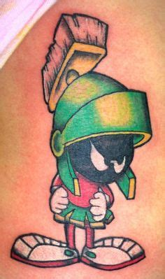 marvin the martian tattoo tattoos on tattoos lipstick tattoos and