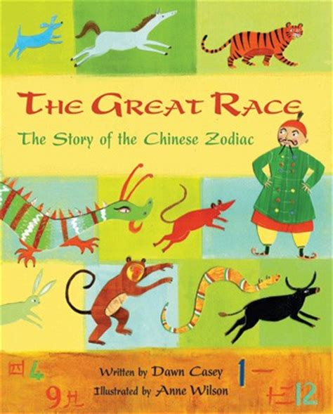 new year zodiac story the great race
