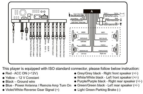 car stereo wiring diagram clarion dxz275mp clarion cz100